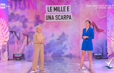 Bianca Guaccero foto figura intera