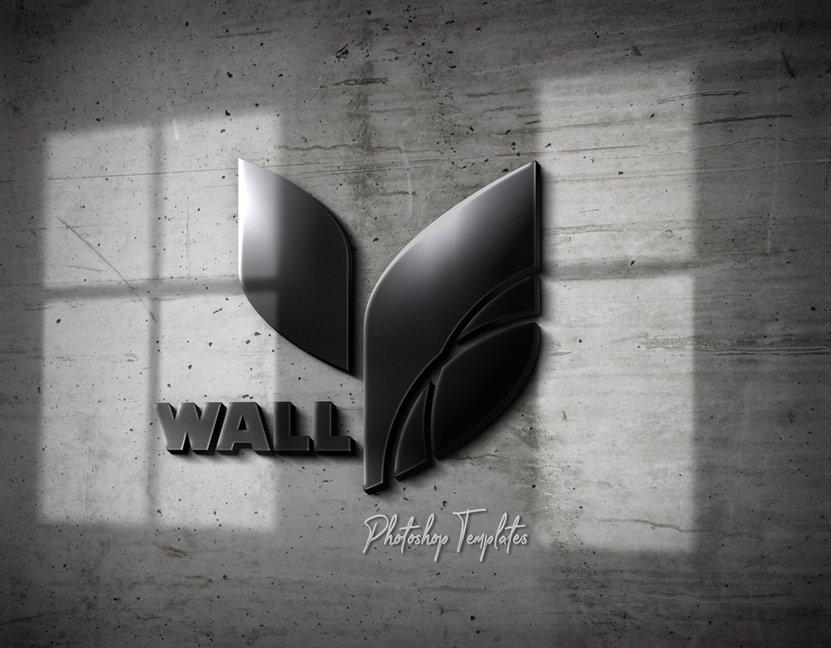 Wall Logo Sign Mockups 26496979  g