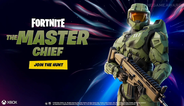 Master Chief joins the hunt Fortnite