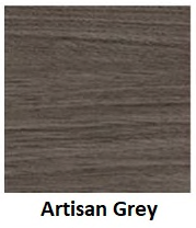 artisan grey laminate finish