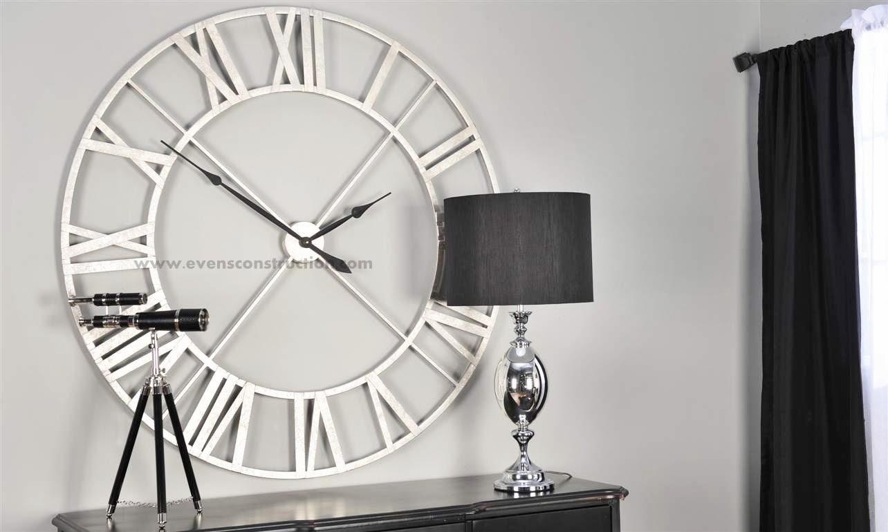 Designer Large Wall Clocks: Evens Construction Pvt Ltd: Modern Wall Clocks