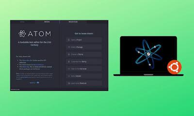 طريقة تثبيت محرر Atom.