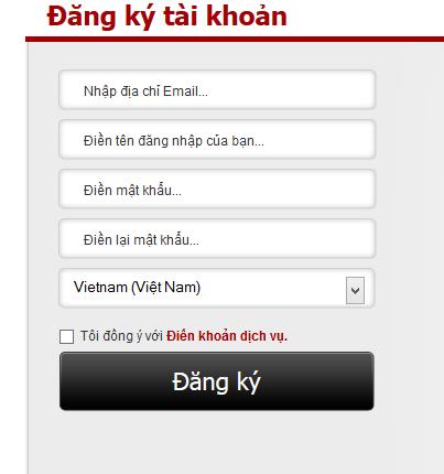 vào trang http://platform.garena.vn/register/