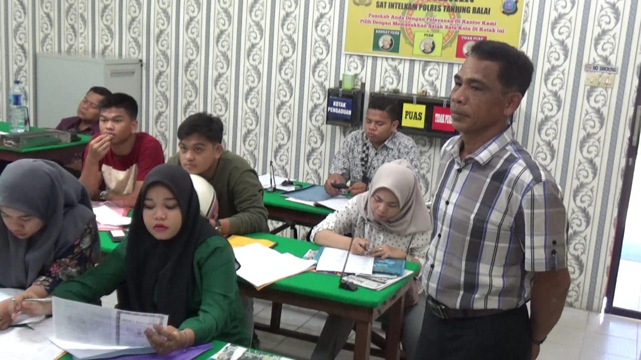 """Ruangan Pelayanan Sat Intelkam Polres TanjungBalai Nyaman, """"Pemohon Ucapkan Terimakasih"""""""
