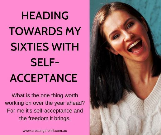 What is the one thing worth working on over the year ahead? For me it's self-acceptance and the freedom it brings.