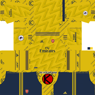 Arsenal 2019/2020 Kit - Dream League Soccer Kits