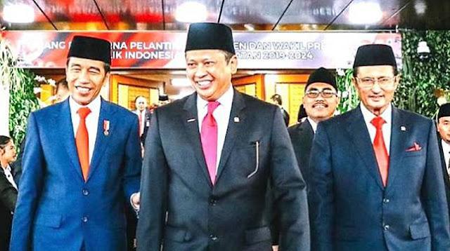 Singgung Utang Warisan Jokowi, MS Kaban: Masihkah MPR Tak Minta Pertanggungjawaban?