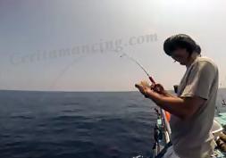 Mancing Ikan Monster Pakai Joran Gomoku Moncel