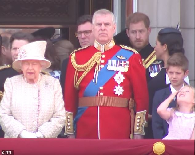Did Prince Harry tell Meghan to 'turn around' at Trooping the Colour?