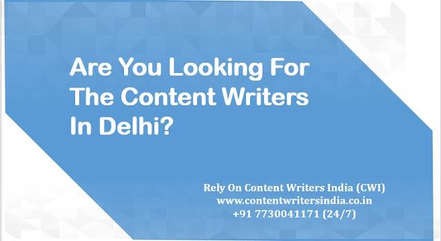 Content Writers Delhi