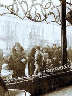 Wystawa cukierni Zalewskiego Lwów