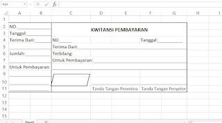 Cara Membuat Kwitansi Terbilang Otomatis di Excel