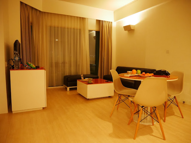 Living room di Hotel Harris Tebet