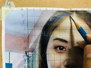 วิธีวาดภาพเหมือนแบบง่ายๆ สำหรับมือใหม่