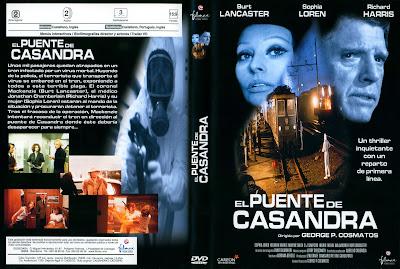 Carátula dvd: El puente de Cassandra (1976) The Cassandra Crossing