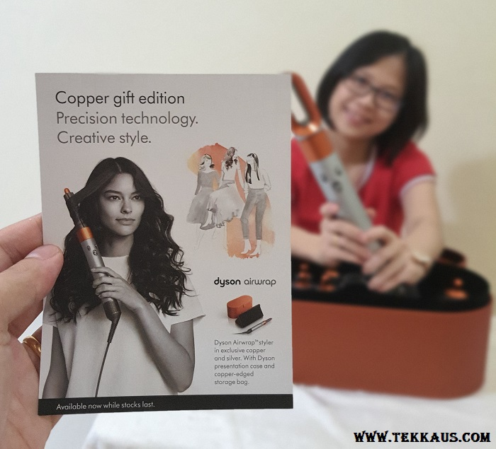 Dyson Airwrap Gift Set Edition Copper Colour Free Gift Bag
