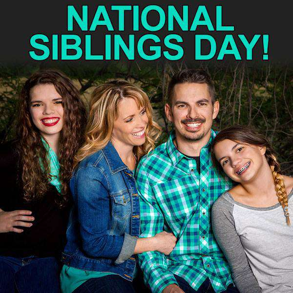 National Siblings Day Wishes Sweet Images