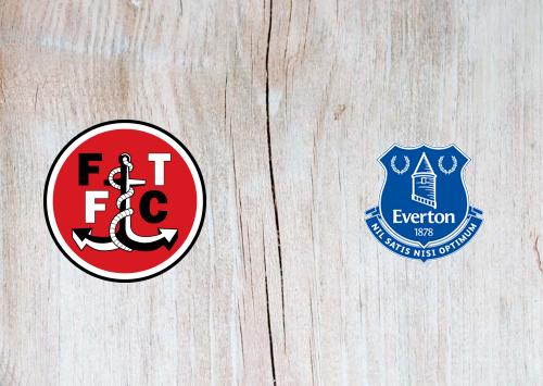 Fleetwood Town vs Everton -Highlights 23 September 2020