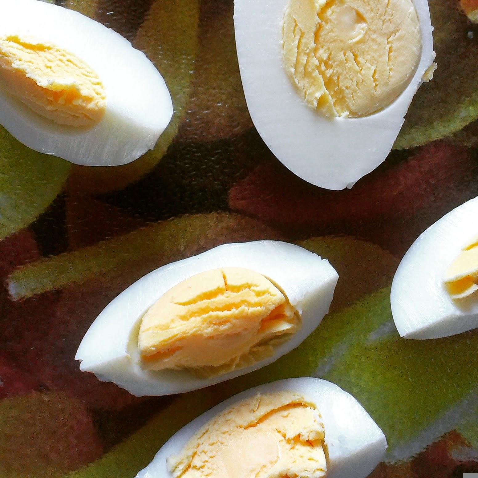 10am - hard boiled eggs