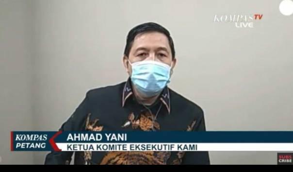 Tak Dapat Surat Panggilan dari Bareskrim, Ahmad Yani: Mau Datang Sebagai Apa?