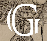 Lettrine G Sainte Geneviève