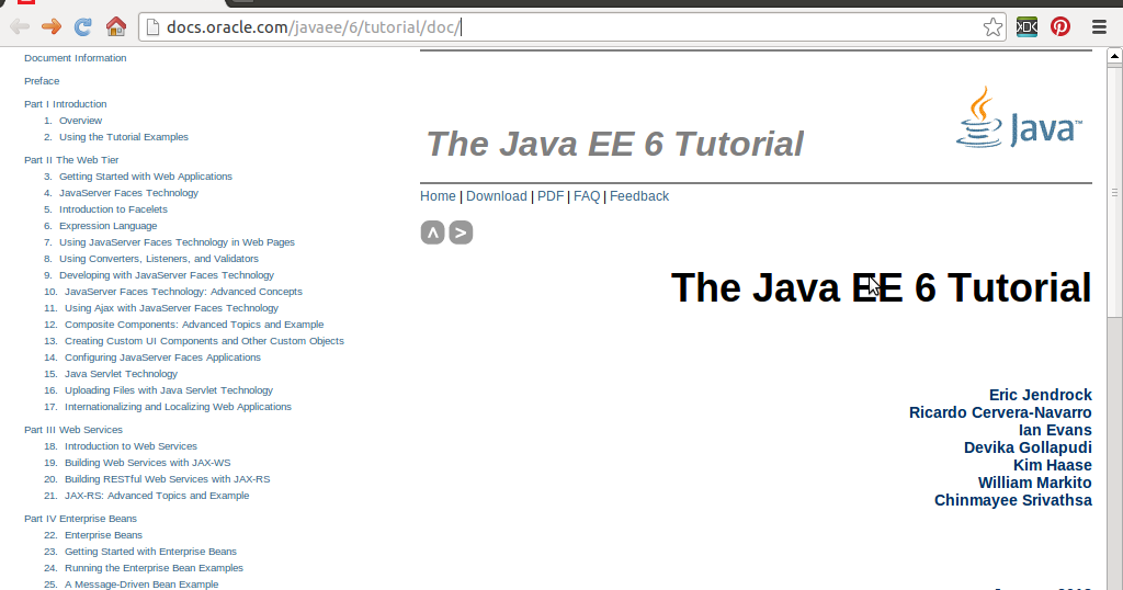 Java Oracle Tutorial Pdf