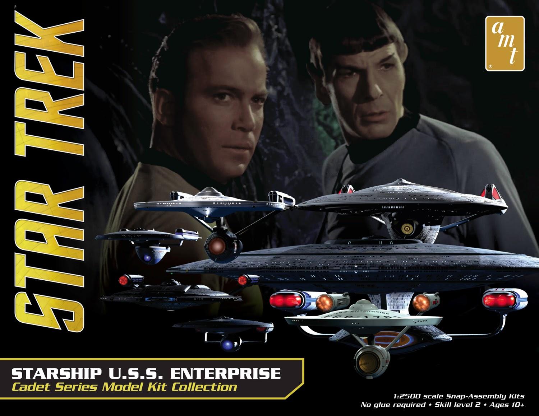 The Trek Collective: Round 2 Models latest Star Trek model kits