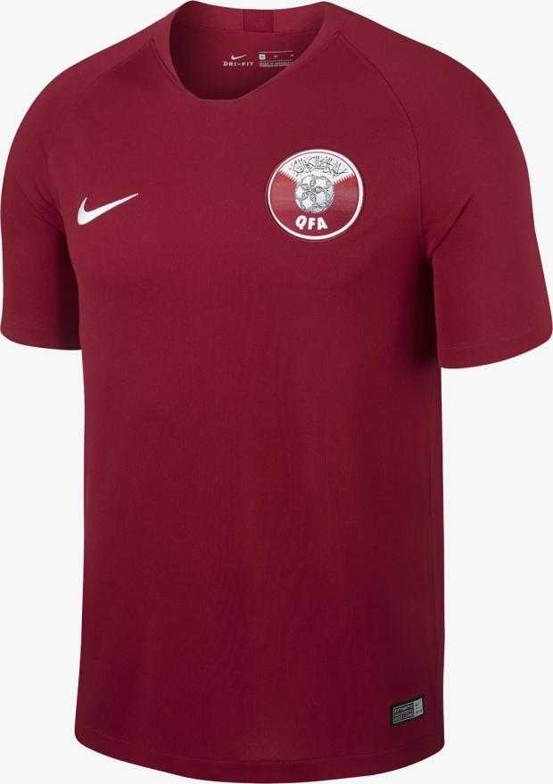 a98b8eca93 Nike lança a nova camisa titular do Catar - Show de Camisas