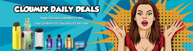 Electronic Cigarette Summer Sale at cloumix