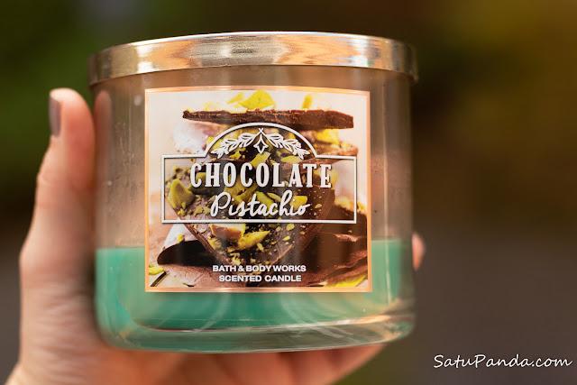 Bath and Body Works Chocolate Pistachio
