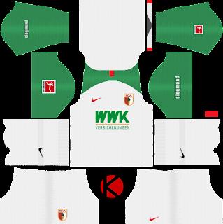 FC-Augsburg-nike-kits-2019-2020-dream-league-soccer-%2528home%2529