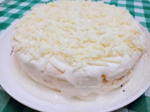 cheesecake leleh