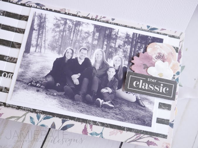 Pink Paislee Auburn Lane Mini Album Walk-thru by Jamie Pate | @jamiepate for @pinkpaislee
