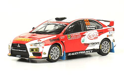 Mitsubishi Lancer Evolution X 2014 M. Rendina - M. Pizzuti
