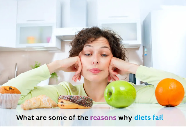 What are some of the reasons why diets fail & How to Fix it?