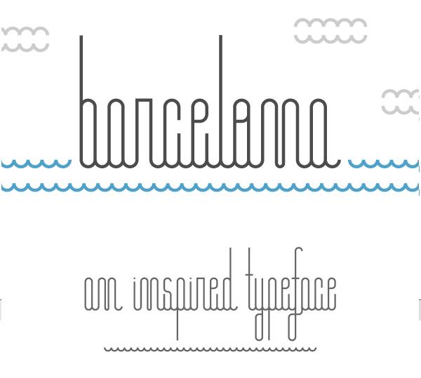 Font Terbaru Untuk Desain Grafis - Barcelona Free Font