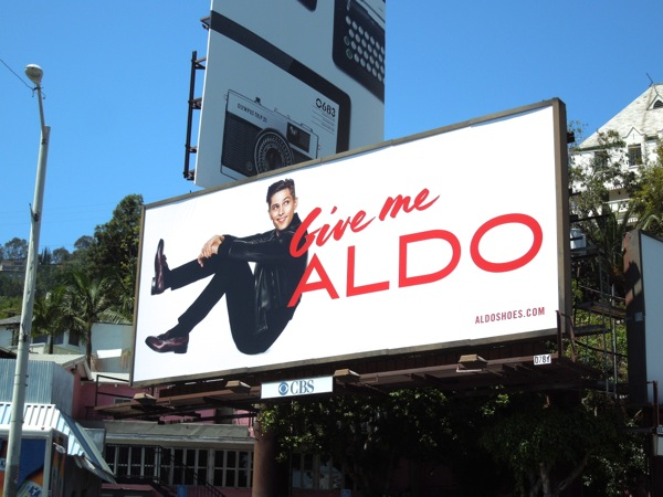 Give me Aldo billboard