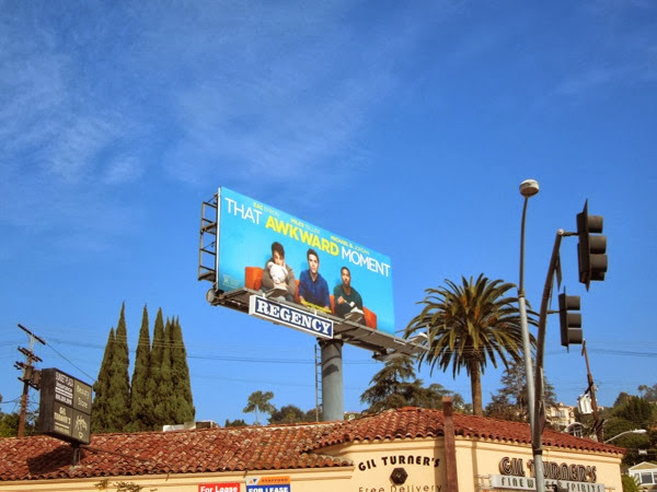 That Awkward Moment movie billboard