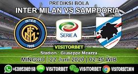 PREDIKSI BOLA INTER MILAN VS SAMPDORIA 22 JUNI 2020