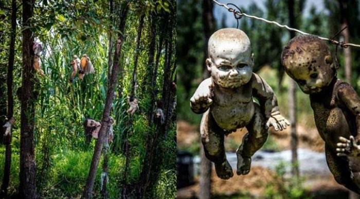 Boneka yang Tergantung di Pulau Munecas