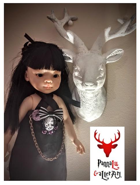 Laleczka Liu w gotyckiej stylizacji, czyli moda alternatywna zawitała do Red Deer Studio