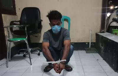 Opsnal Satresnarkoba Polres Dompu Amankan Terduga Pengedar Shabu