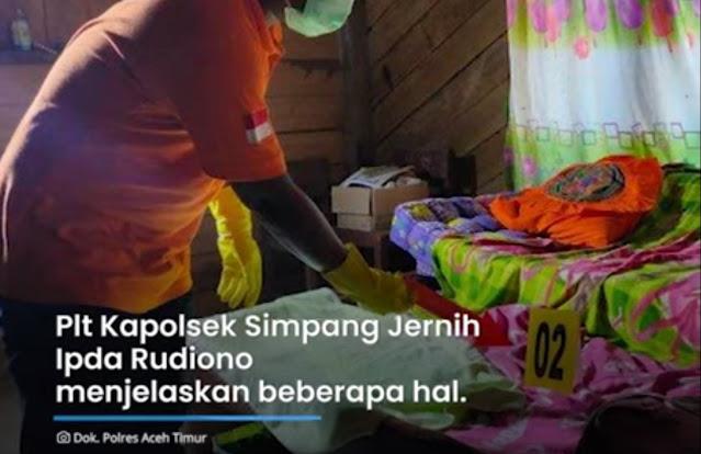 Banyak Lalat di Teras, Ibu dan Anak di Aceh Ditemukan Tewas di Kolong Tempat Tidur
