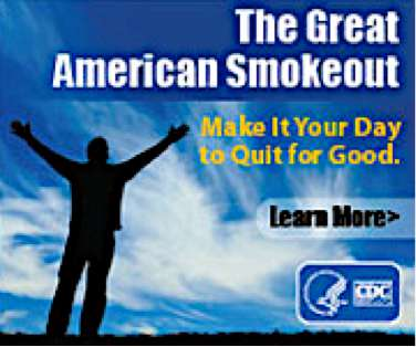 Great American Smokeout Wishes Pics