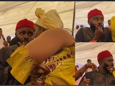 """""""African mothers and resetting slaps"""" – Reactions as Actress, Rita Edochie slaps colleague, Chief Imo in public for bad table manners (video)"""