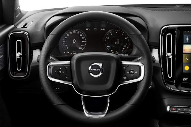 Volvo XC40 2018 - Brasil - interior