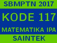 Soal dan Pembahasan SBMPTN 2017 Matematika