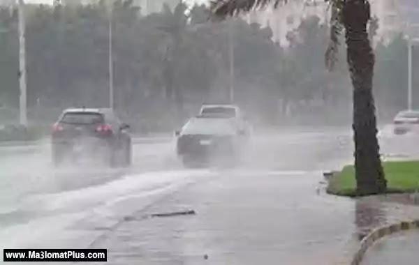 أصوات رعدية مدوية مصحوبة بأمطار في سماء القاهرة ومحافظاتها