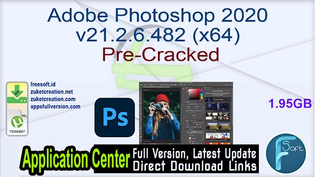 Adobe Photoshop 2020 v21.2.6.482 (x64) Pre-Cracked
