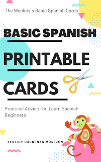 Basic Spanish printable cards